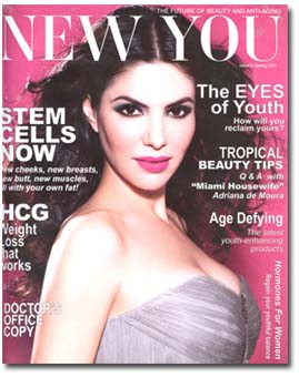New You Magazine Talks Stem Cells and Fat Transfers