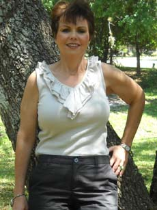 Becky after her cosmetic surgery at CosMed Clinic in Mexico