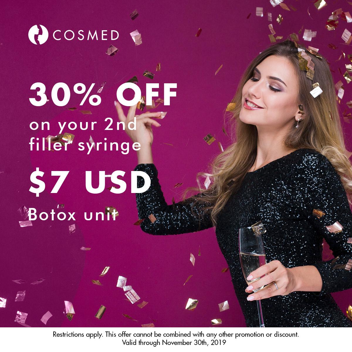 Dermal Fillers Botox November Promotion